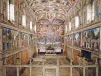 Michelangelo's Fresco in the Cappella Sistina
