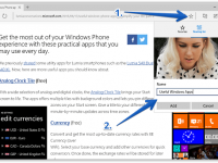 How to Add a Site or an Article to Edge Reading List