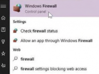 How to Set Up the Firewall in Windows 10