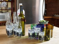 12 Interesting DIY Designs You can Easily Get from Cut Wine Bottles