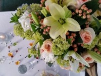 Chameleons and Flower Bouquet
