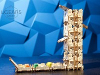 UGears Modular Dice Tower Wooden Puzzle and Construction Kit
