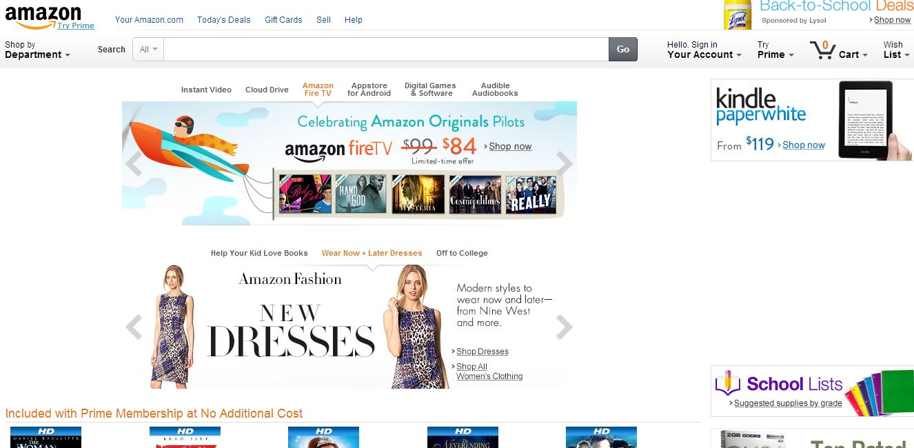 Best online shopping websites a comprehensive list for Websites for online shoping