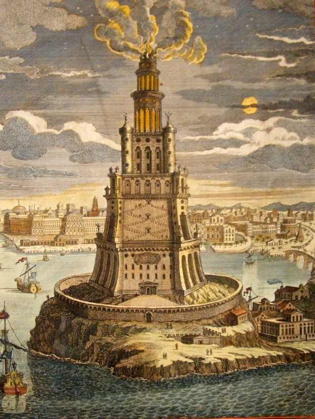 Replica Lighthouse of Alexandria Set to Be Built