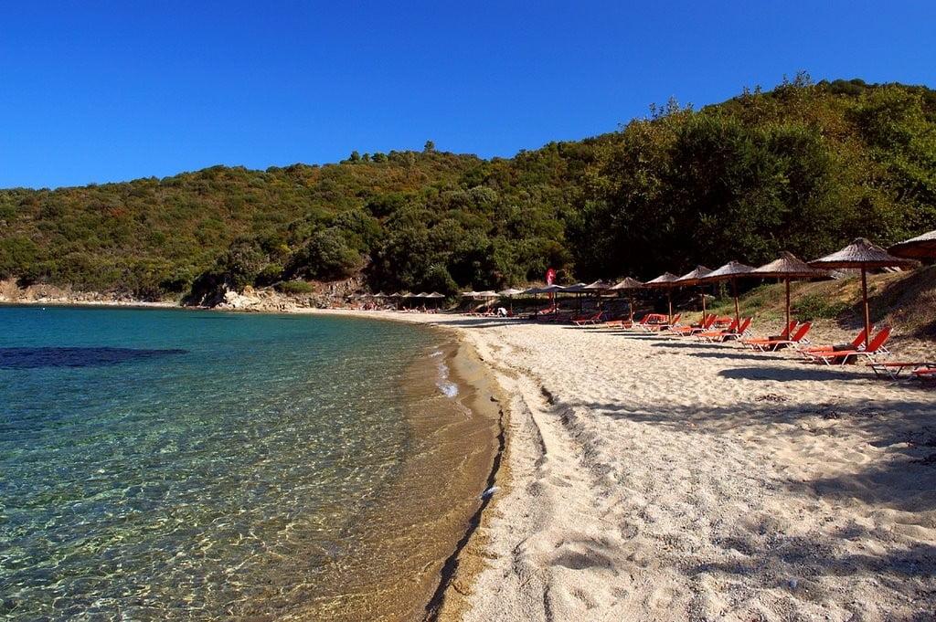 Banana Beach, Greece