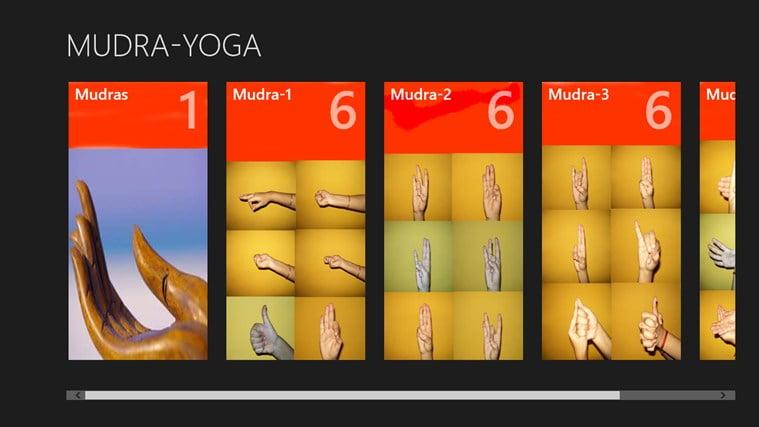 Mudras app