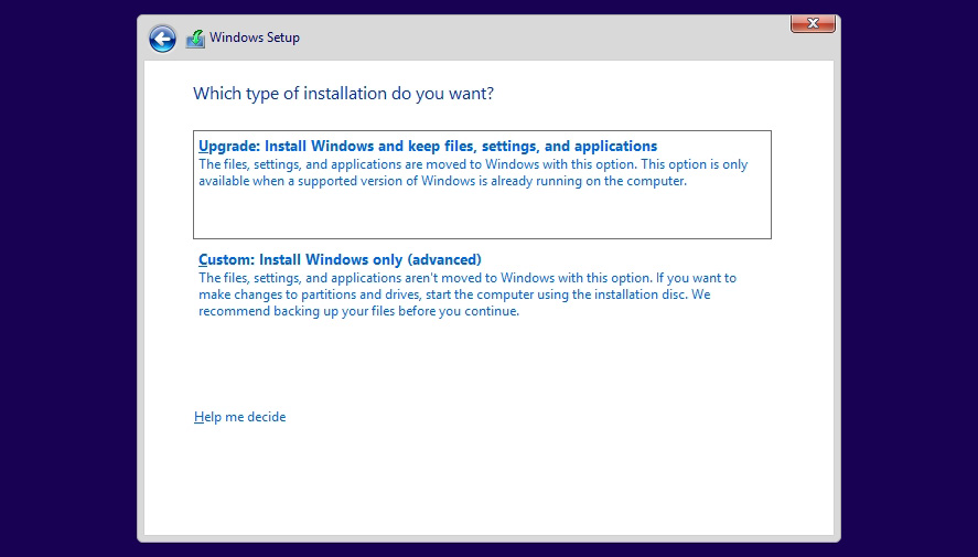 windows-10-installation type