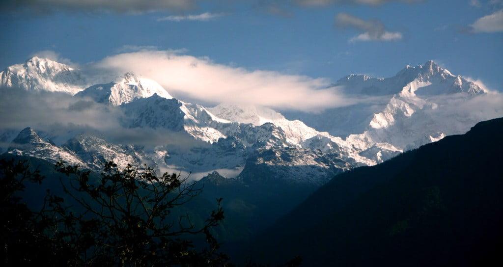 Kanchenjunga-Himalayas