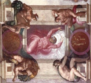 Michelangelo_Separation_of_Light_from_Darkness