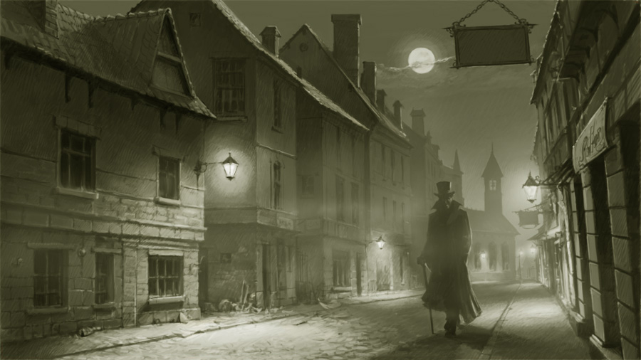 Jack the Ripper Walking
