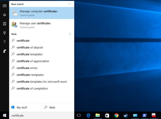 Manage-computer-certificates