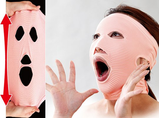 stretchy mask face