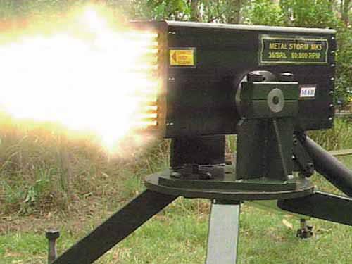 Metal Storm Sentry Gun