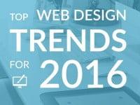 Top Design Trends of Website Creation