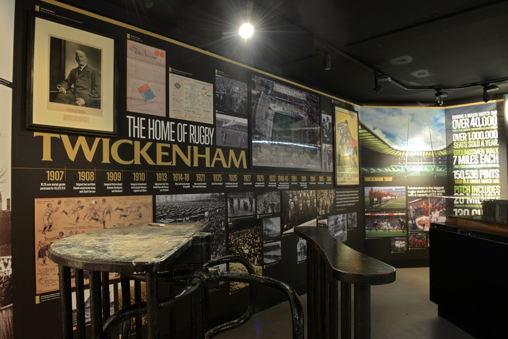 The World Rugby Museum at Twickenham