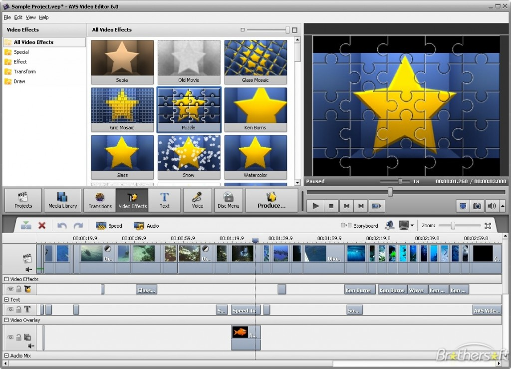 video effects software