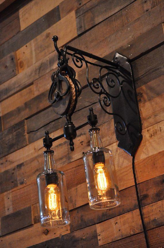 Wall lighting fixtures