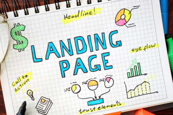 how to create facebook landing page for business